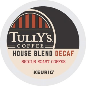 Tully's Coffee House Blend Decaf