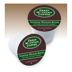 Green Mountain Coffee Roasters National Wildlife Blend Coffee - Regular - Medium - K-Cup - 24 / Box