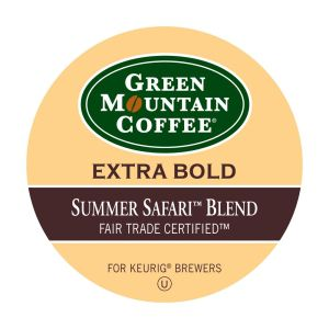Green Mountain Coffee Roasters Summer Symphony Blend Coffee - Regular - Full/Extra Dark/Extra Bold - K-Cup - 24 / Box
