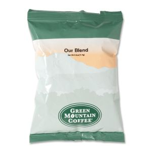 Green Mountain Coffee Roasters Our Blend Coffee - Regular - Light/Mild - Ground - 24 / Carton