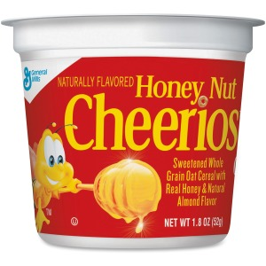 Cheerios Honey Nut Cereal-In-A-Cup