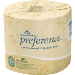 Georgia-Pacific Preference Embossed Bath Tissue