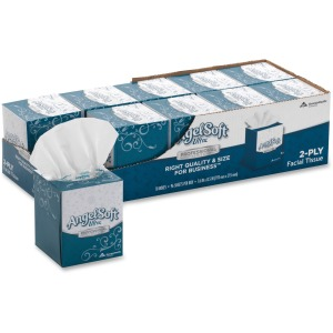 Angel Soft Ultra Professional Series Facial Tissue in Cube Box