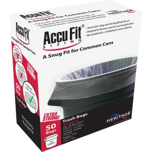 Heritage Accufit Reprime 32 Gallon Can Liners