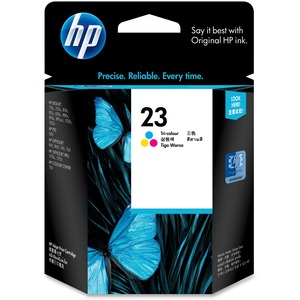 HP 23 (C1823D) Original Ink Cartridge - Single Pack