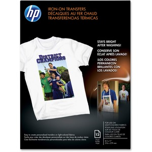 HP Inkjet Print Iron-on Transfer Paper