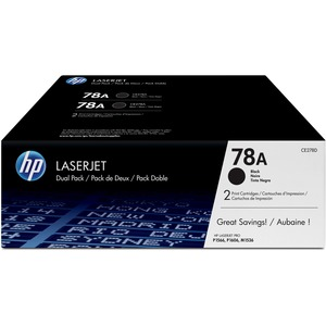HP 78A Original Toner Cartridge Dual Pack - Black - Dual Pack