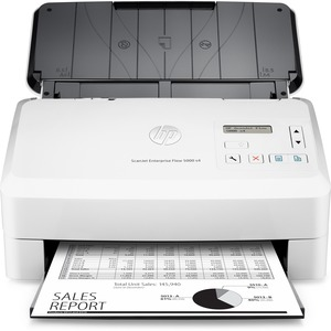 HP Scanjet 5000 s4 Sheetfed Scanner - 600 dpi Optical