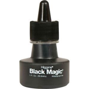 Higgins Black Magic Waterproof Ink