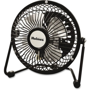 Holmes HNF0410A-BM Mini High-Veloc. Personal Fan