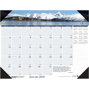 House of Doolittle EarthScapes Mountains Desk Pad