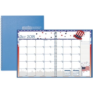 House of Doolittle Seasonal Academic Monthly Planner