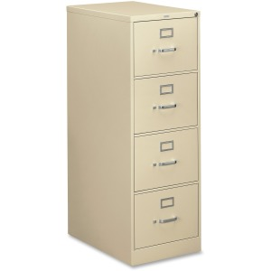 HON 310 Series 4-Drawer Vertical File