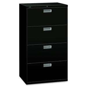 HON Brigade 600 Series 4-Drawer Lateral