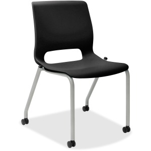 HON Motivate Stacking Chairs, 2-Pack