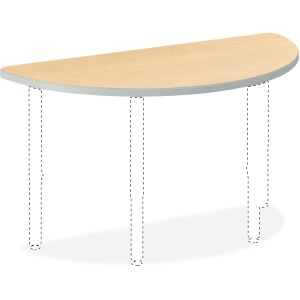 "HON Build Half Round Table 60""W x 30""D"