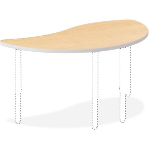 "HON Build Wisp Table 50""W x 30""D"