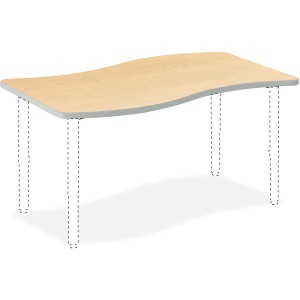 "HON Build Ribbon Table 50""W x 30""D"