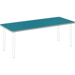 "HON Build Rectangle Table 60""W x 24""D"