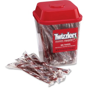 Twizzlers Hershey Co. Strawberry Candy Twists