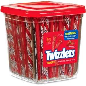 Twizzlers Hershey Co. Strawberry Twists Snack