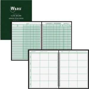 Ward 9-Week Record/6 Period Lesson Plan Book