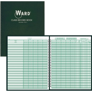 Ward Teacher's 9-10 Week Class Record Book