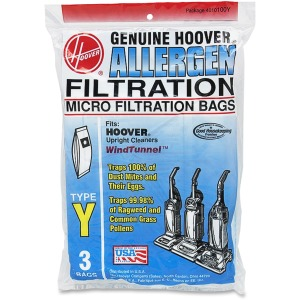 Hoover Type Y Allergen Filtration Bags