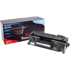 IBM Remanufactured Toner Cartridge - Alternative for HP 80A (CF280A)