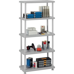 Iceberg Rough 'N Ready 5-Shelf Open Storage System