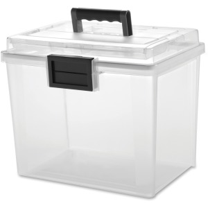 Iris Weather Tight Portable File Box