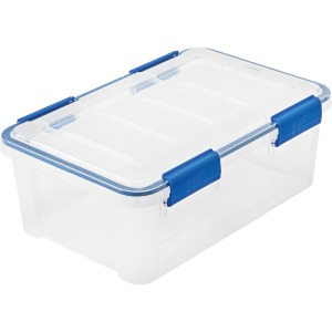 I.R.I.S. Ziplock WeatherShield Storage Box