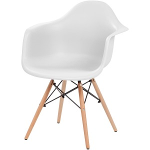 Iris Classic Shell Chair with Armrests