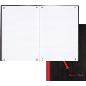 Black n' Red Casebound Business Notebook