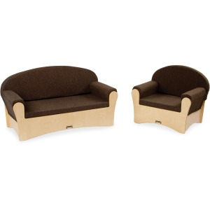 Jonti-Craft Komfy Sofa/Chair 2-piece Set