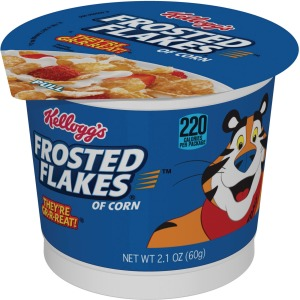 Kellogg's Frosted Flakes&reg Cereal-in-a-Cup