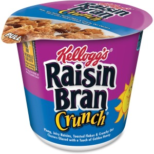 Kellogg's&reg Raisin Bran Crunch&reg Cereal-in-a-Cup