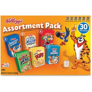 Kellogg's&reg Cereal Assortment Pack