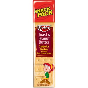 Keebler&reg Toasty Crackers with Peanut Butter
