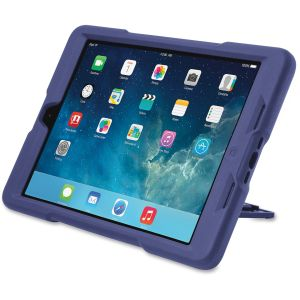 iPad Air - Plum - Rubberized - Rubber, Polycarbonate