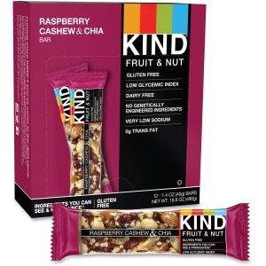 KIND Raspberry Cashew & Chia Snack Bar