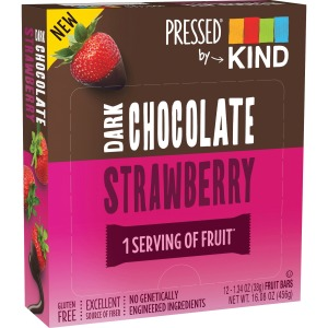 KIND Pressed Dark Chocolate Fruit Bars