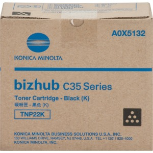 Konica Minolta TNP22K Original Toner Cartridge