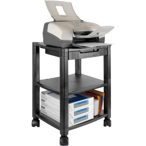 Kantek Three-shelf Mobile Printer/Fax Stand