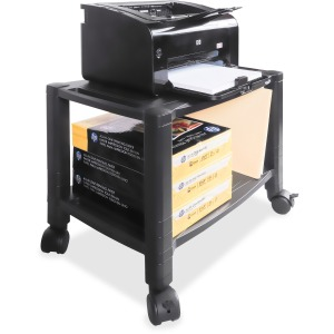 Kantek Mobile 2-Shelf Printer/Fax Stand