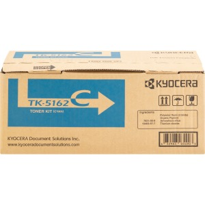 Kyocera TK-5162C Original Toner Cartridge - Cyan