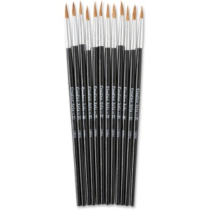 CLI Size 4 Water Color Pointed Brushes