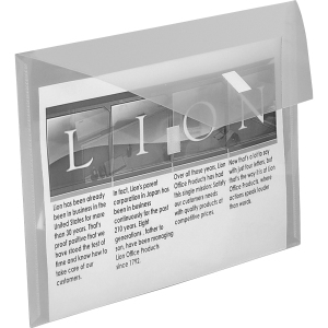 Lion Weatherproof Poly Envelopes
