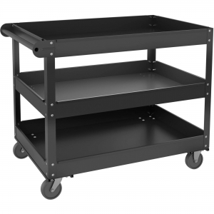 Lorell 3-shelf Utility Cart