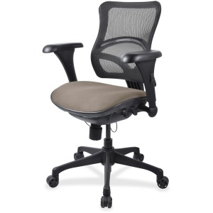 Lorell Mid-back Fabric Seat Chair
